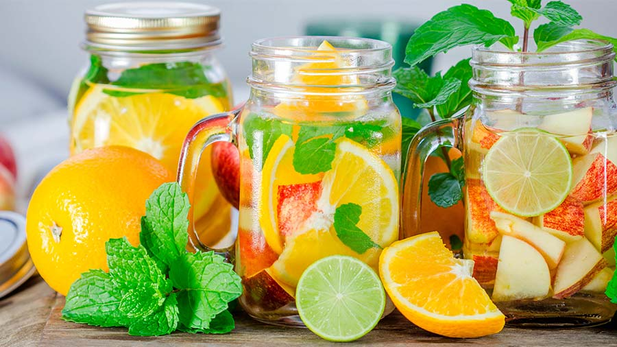 detox water recipes Slimming Apple Detox Water For Flat Belly and Craving Control