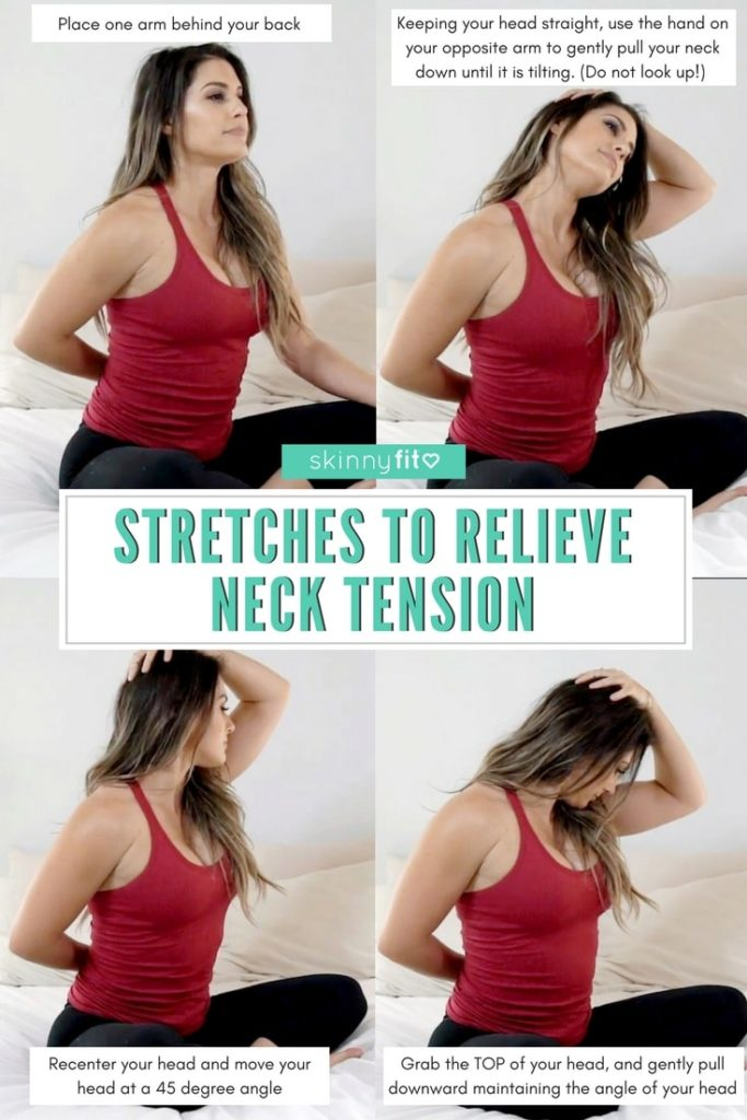 stretches to relieve neck tension