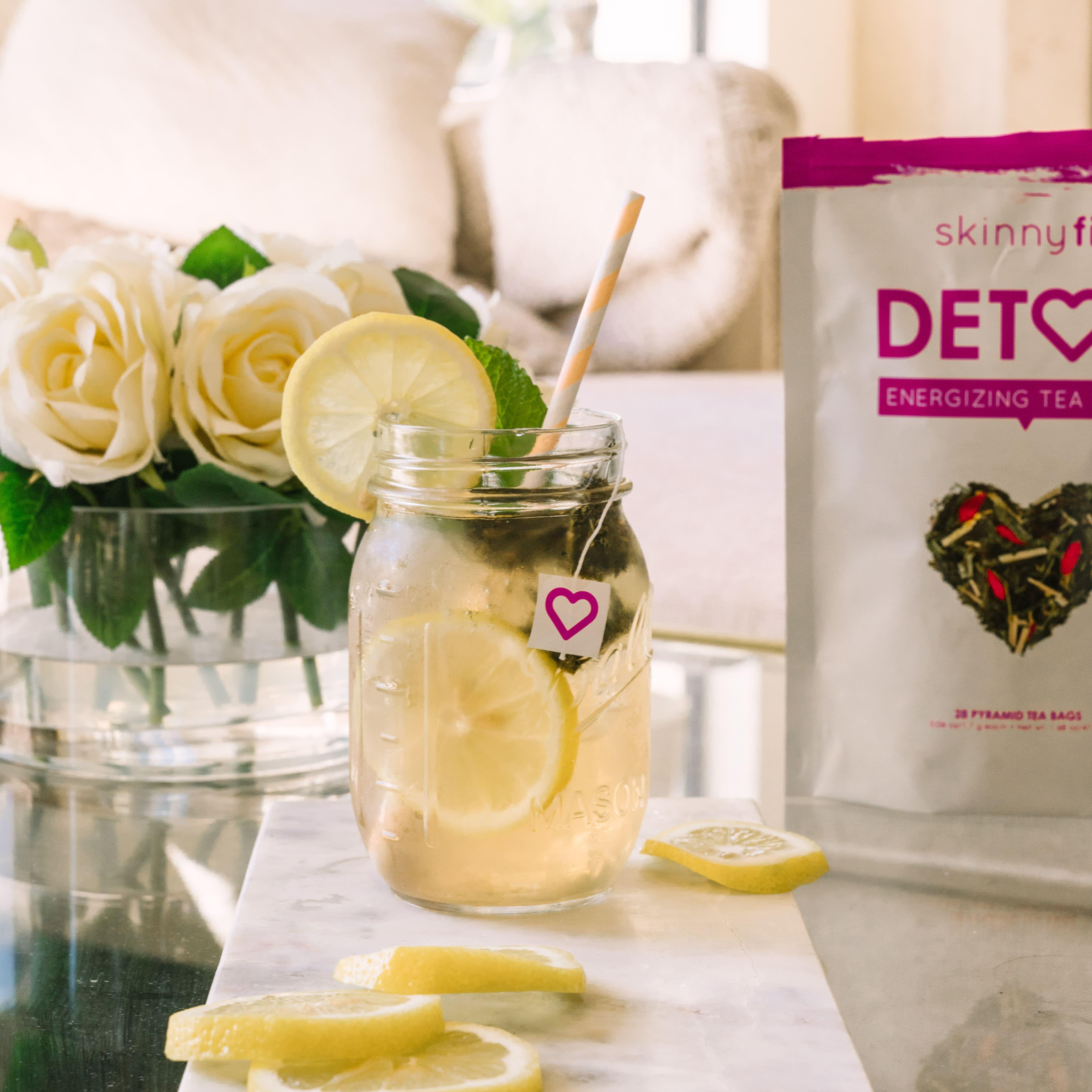 Lemon Detox Tea Lemon Mint Tea