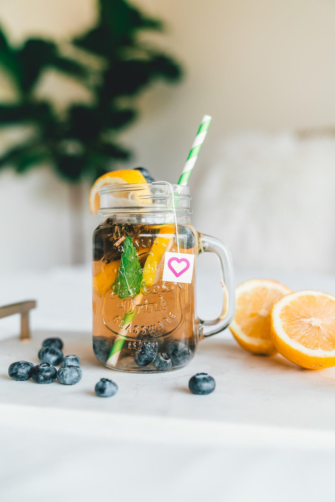 apple cider vinegar recipes - Blueberry Apple Cider Vinegar Detox Recipe
