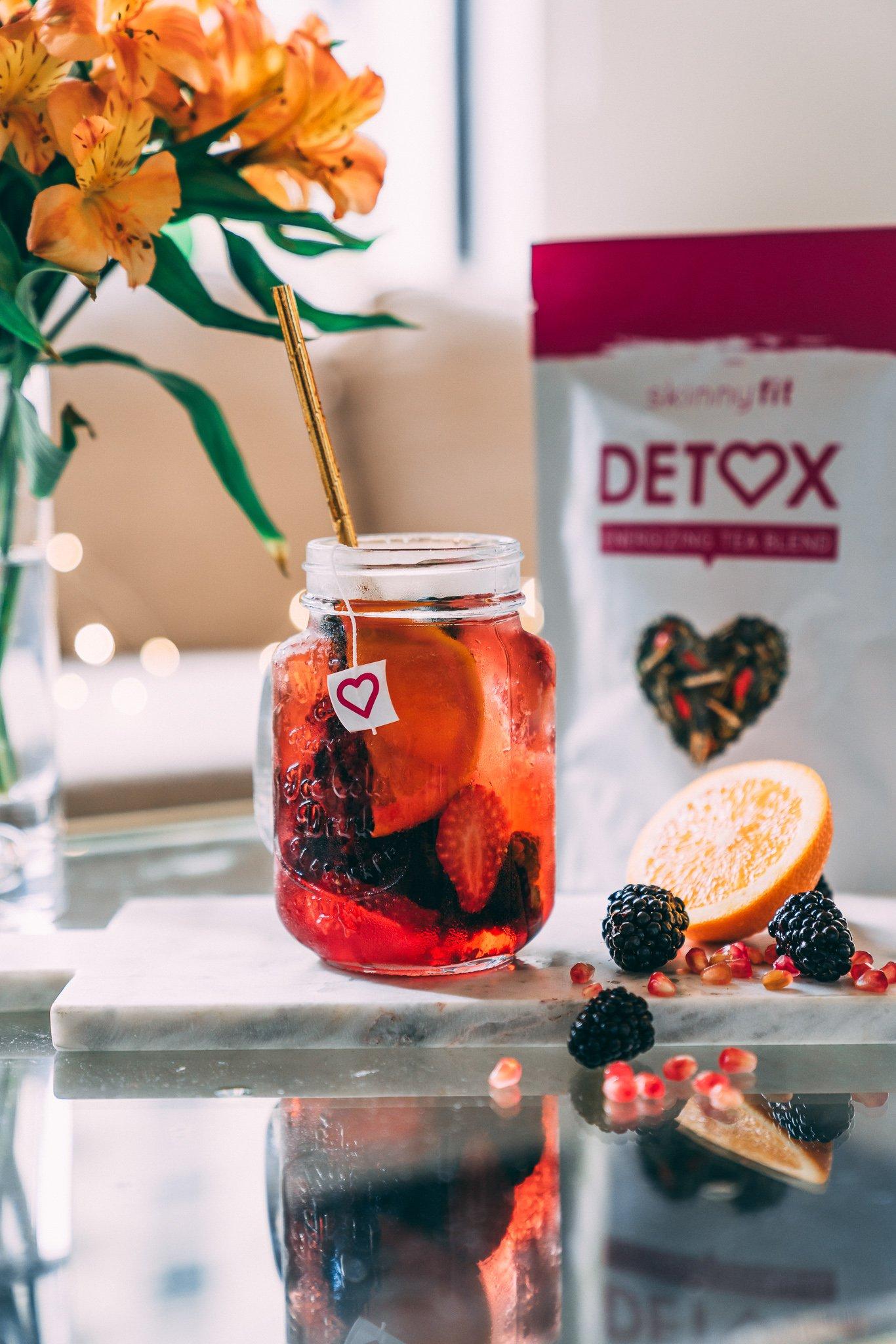 apple cider vinegar recipes - Mixed Berry Citrus Apple Cider Vinegar Detox Recipe