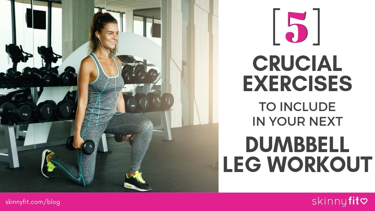 dumbbell leg workout