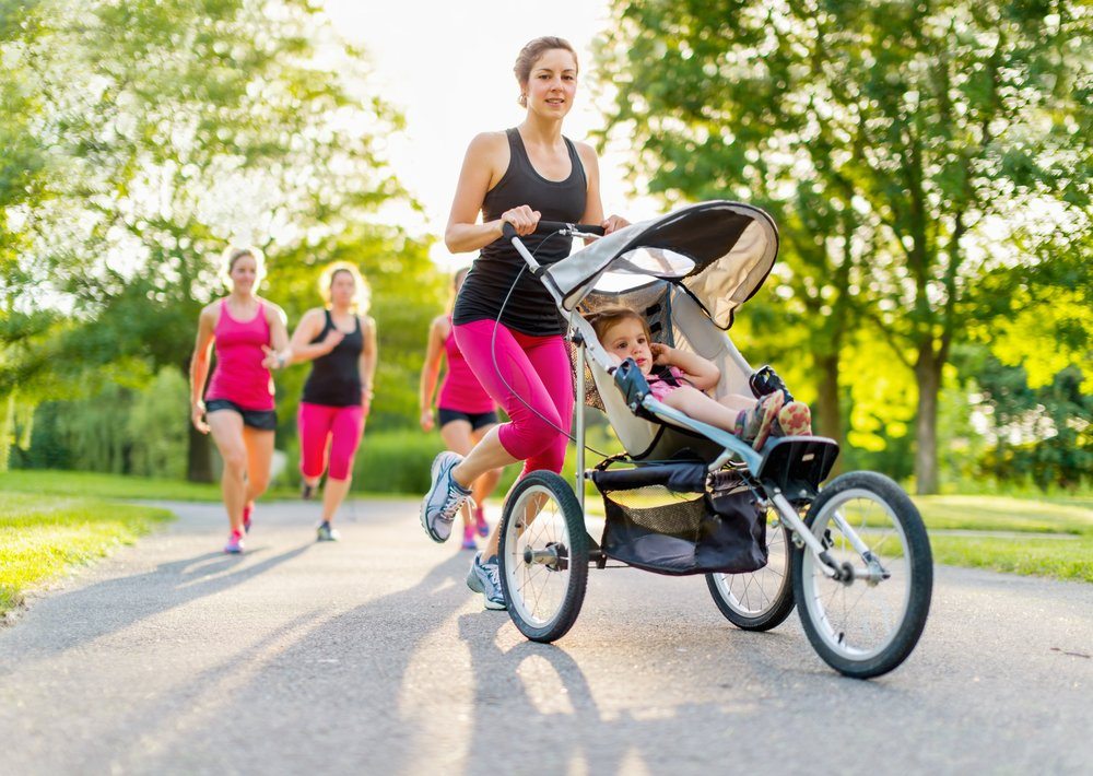 jog stroller for losing baby weight