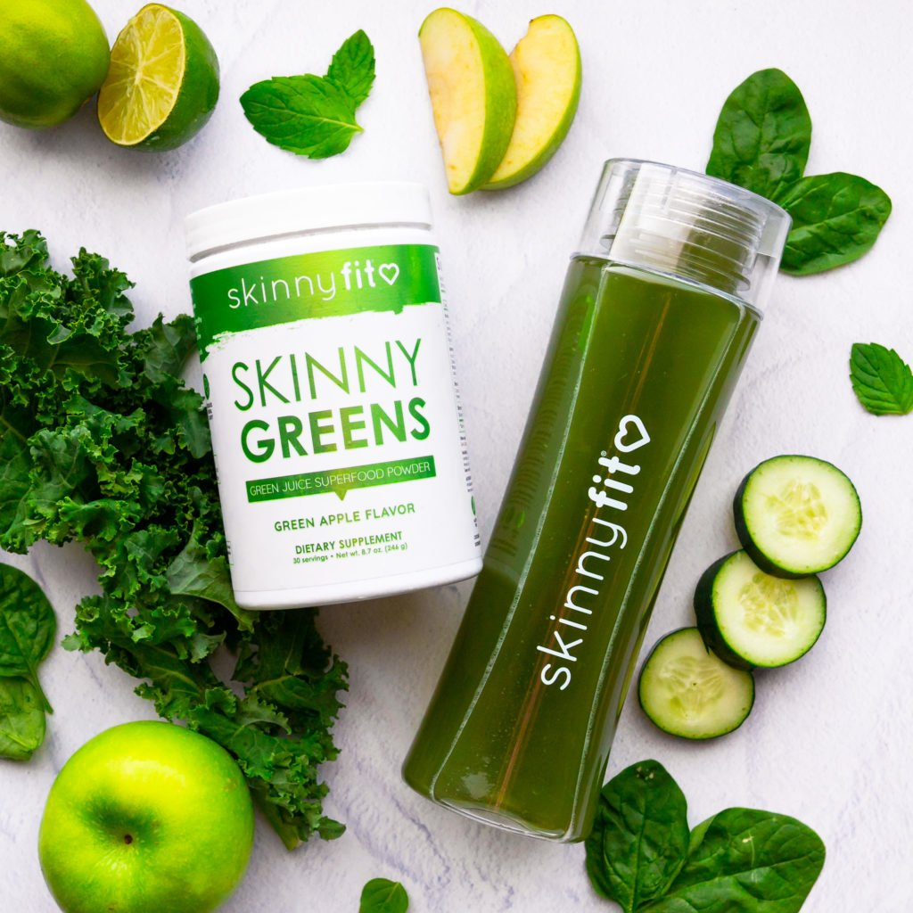 skinny greens superfood powder