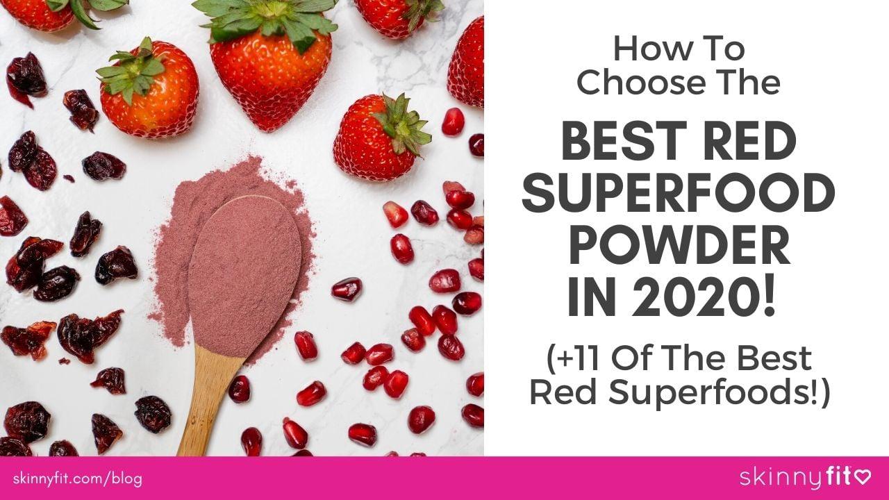 best red superfood powder