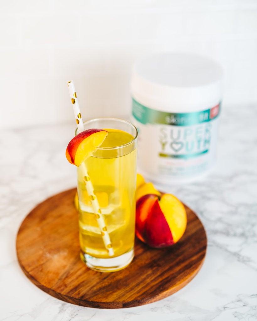 peach mango collagen water