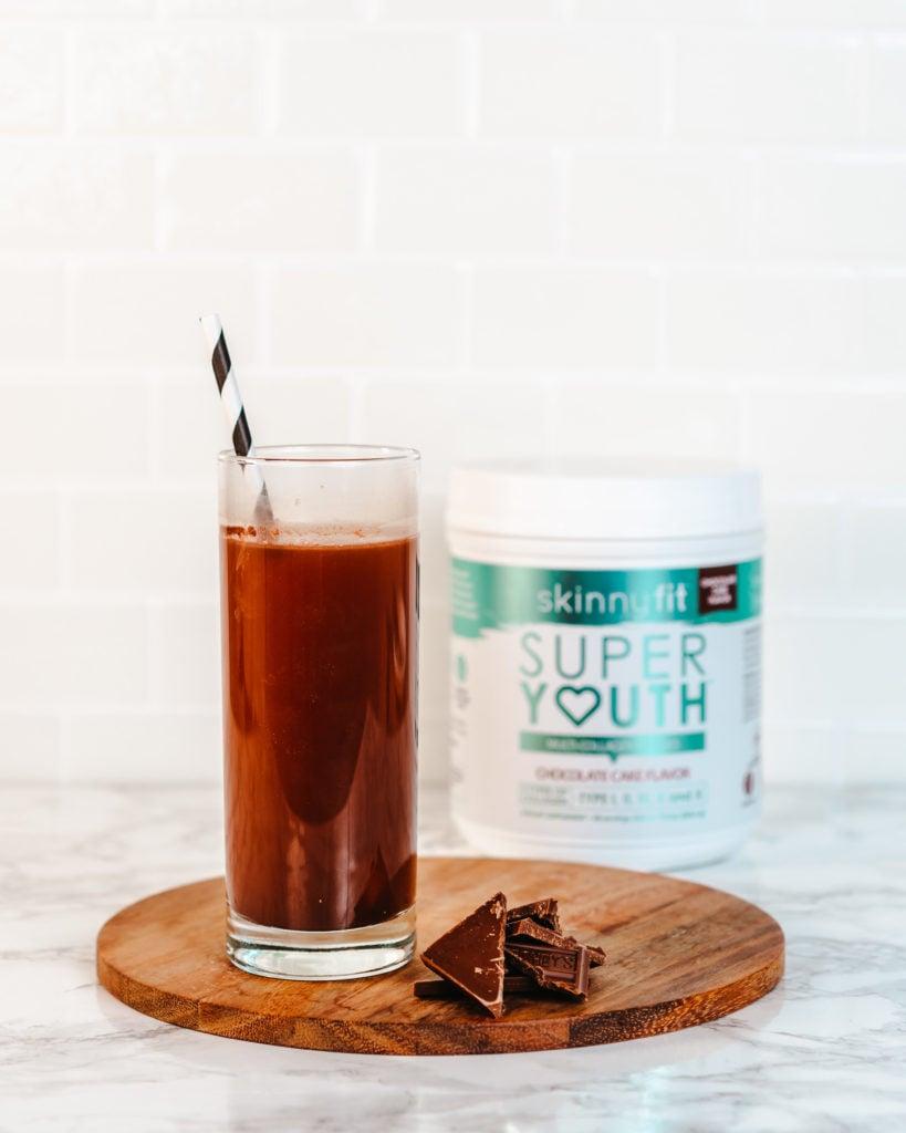 chocolate collagen water