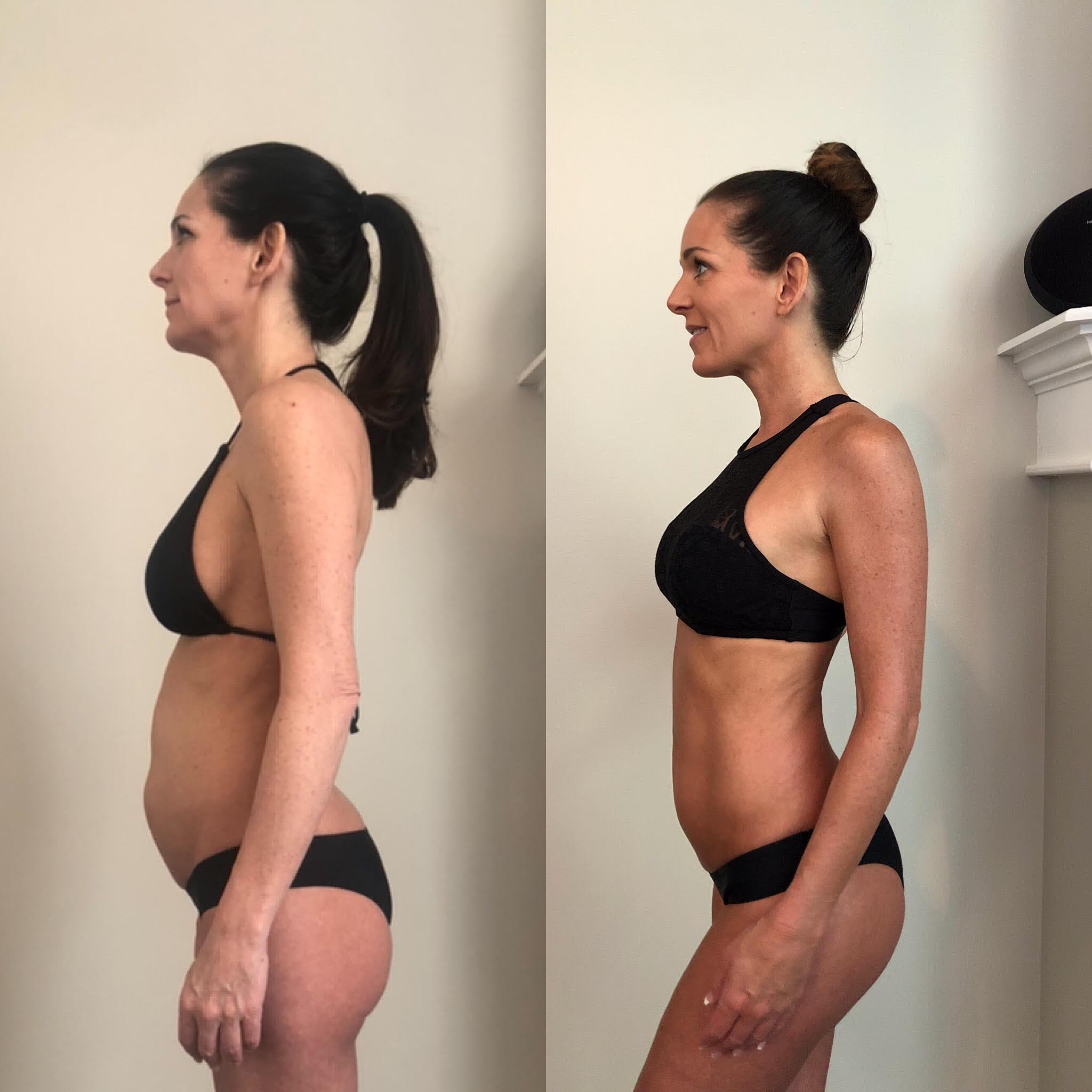 28-day-challenge transformation