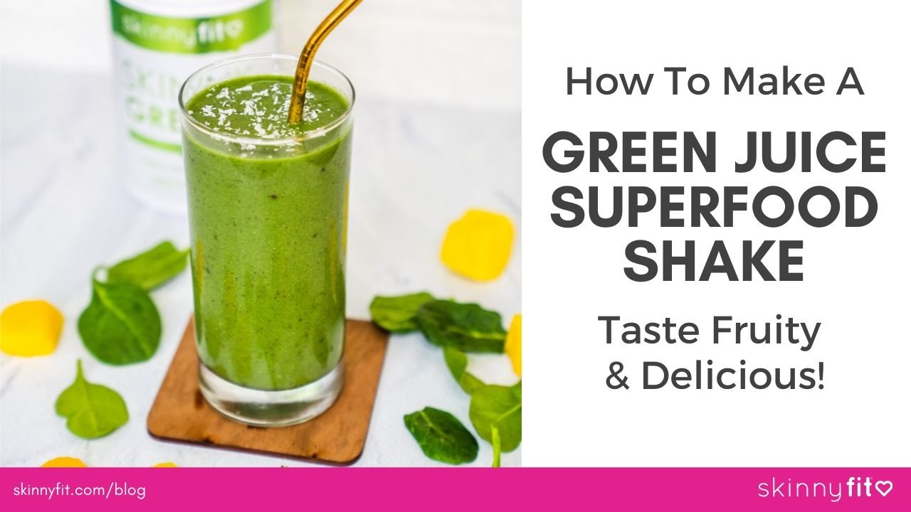 green superfood shake