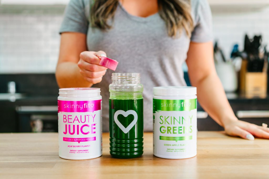 mixing skinnyfit products