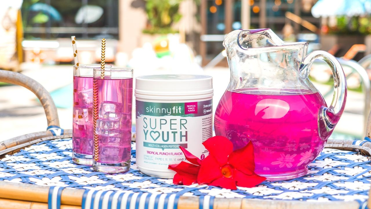 SkinnyFit Super Youth Tropical Punch collagen
