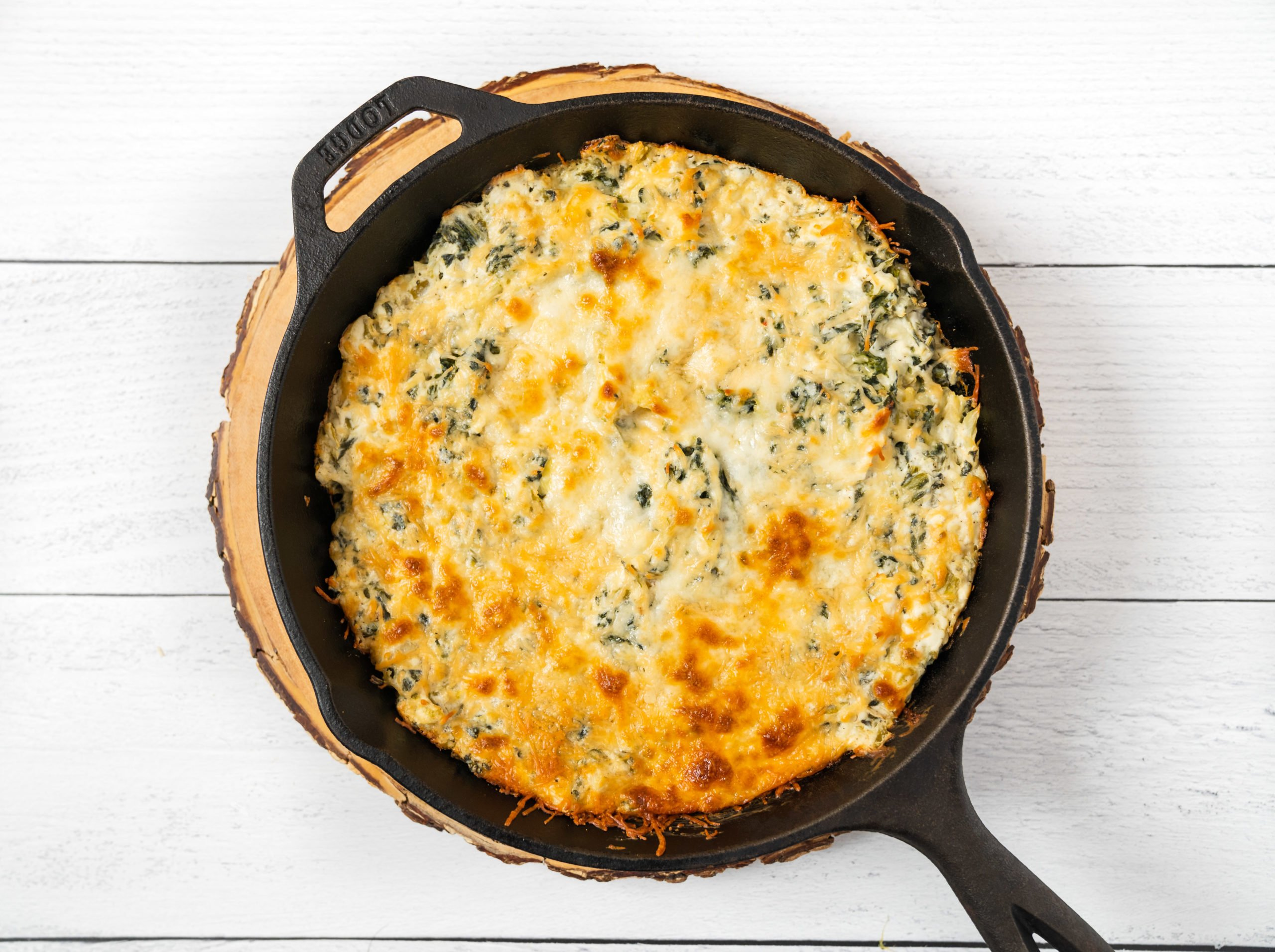The Best Healthy Spinach Artichoke Dip Recipe