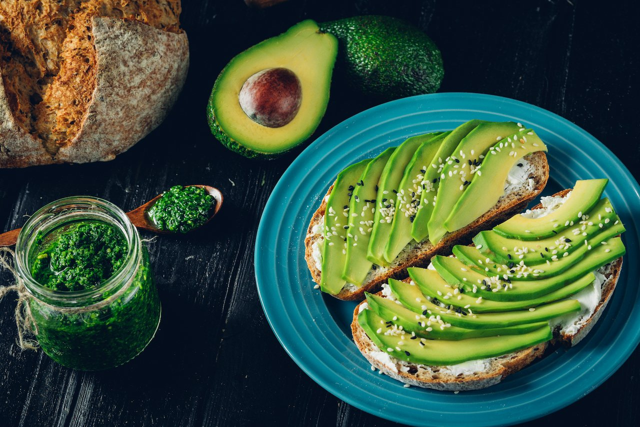 Omega 3s, such as those in avocado, shown here, are a great choice when learning how to balance hormones