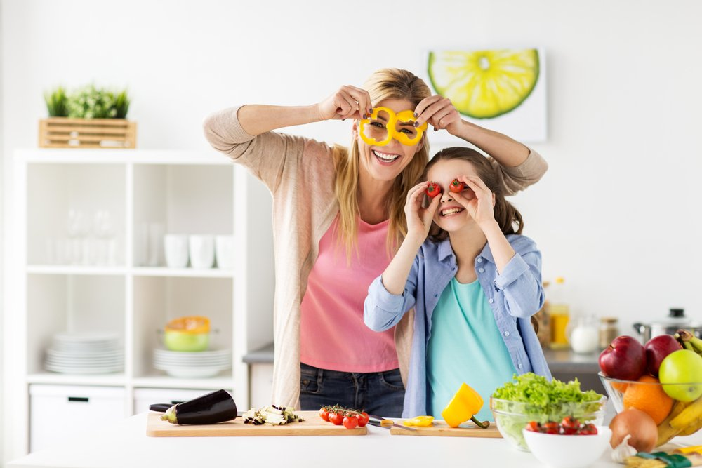 Healthy eating with kids