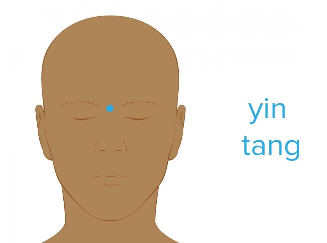 acupressure yin tang